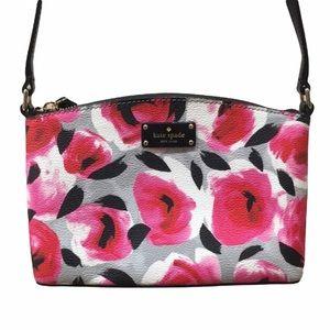 HP🎉 Kate Spade Rose Flower Crossbody Purse Bag